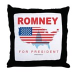 Romney for President Throw Pillow