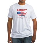 Romney for President Fitted T-Shirt