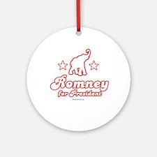 Romney for President Ornament (Round)