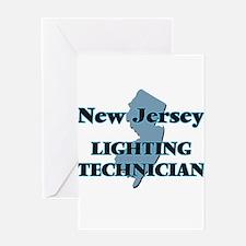 New Jersey Lighting Technician Greeting Cards