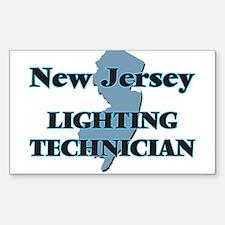 New Jersey Lighting Technician Decal