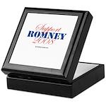 Support Romney Keepsake Box