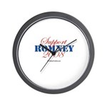 Support Romney Wall Clock