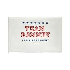Team Romney Rectangle Magnet