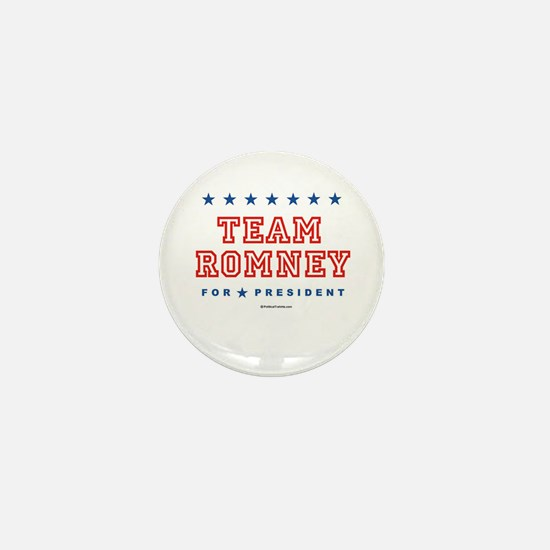 Team Romney Mini Button