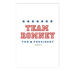 Team Romney Postcards (Package of 8)