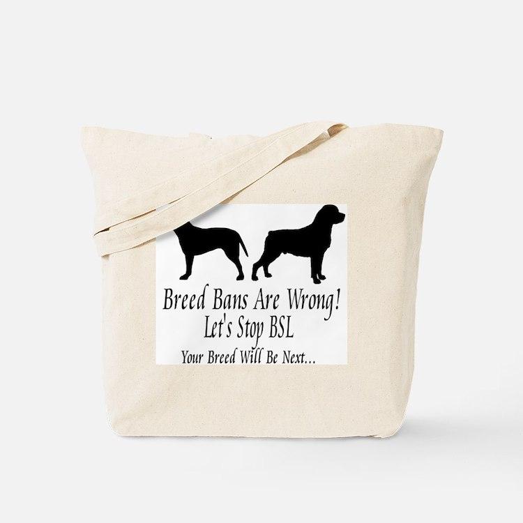 Stop BSL Tote Bag