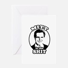 Mitt is the shit Greeting Card