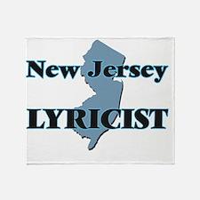 New Jersey Lyricist Throw Blanket