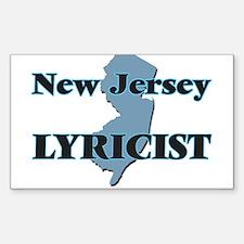 New Jersey Lyricist Decal