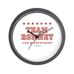 Team Romney Wall Clock