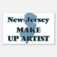 New Jersey Make Up Artist Decal