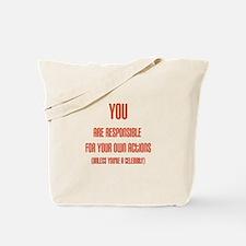 Celebrity Justice Tote Bag
