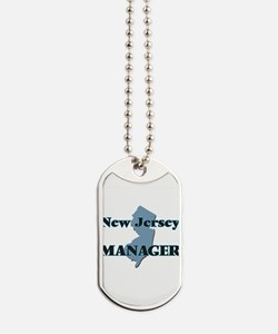 New Jersey Manager Dog Tags
