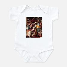 Hieronymus Bosch's Hell Infant Bodysuit