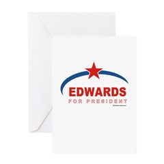 Edwards for President Greeting Card