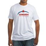 Edwards for President Fitted T-Shirt