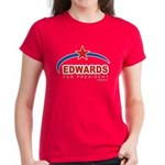 Edwards for President Women's Dark T-Shirt