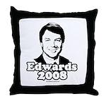 Edwards 2008 Throw Pillow