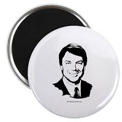 John Edwards Face Magnet