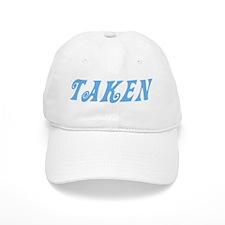 Taken Baby Blue w/o Circles Baseball Cap