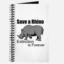 Save A Rhino Journal