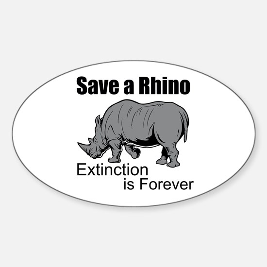 Save A Rhino Decal