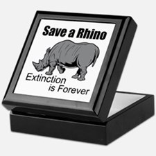 Save A Rhino Keepsake Box