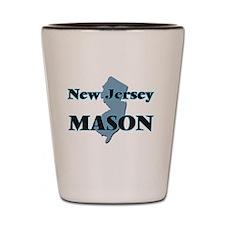 New Jersey Mason Shot Glass