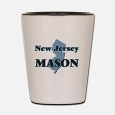 New Jersey Mason Shot Glass