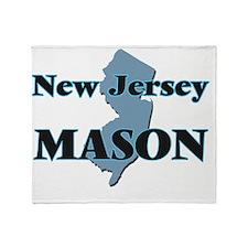 New Jersey Mason Throw Blanket