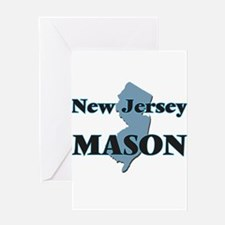 New Jersey Mason Greeting Cards