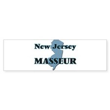 New Jersey Masseur Bumper Bumper Sticker