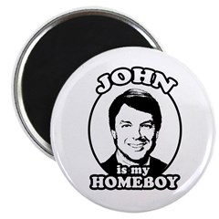 "John is my Homeboy 2.25"" Magnet (100 pack)"