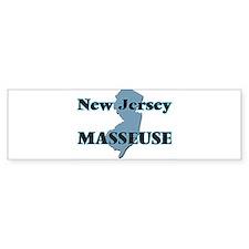 New Jersey Masseuse Bumper Bumper Sticker