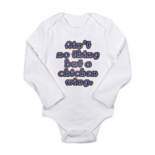 Cute Barbecue sauce Long Sleeve Infant Bodysuit