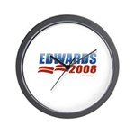 John Edwards 2008 Wall Clock