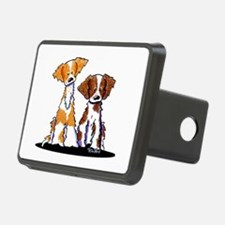 KiniArt Brittany Duo Hitch Cover