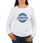 John Edwards for President Women's Long Sleeve T-S