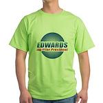 John Edwards for President Green T-Shirt
