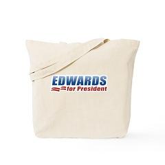 Edwards for President Tote Bag