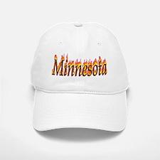 Minnesota Flame Baseball Baseball Baseball Cap