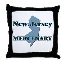 New Jersey Mercenary Throw Pillow