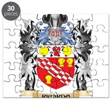 Ricardo Coat of Arms - Family Crest Puzzle