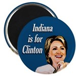 Indiana is for Clinton Magnet