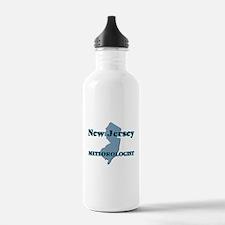 New Jersey Meteorologi Water Bottle