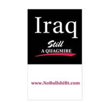 Iraq Still a Quagmire Bumper Decal
