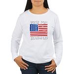 Vote for John Edwards Women's Long Sleeve T-Shirt