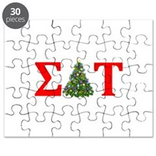 Sigma Delta Tau Christmas Tree Puzzle
