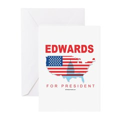 Edwards for President Greeting Cards (Pk of 20)